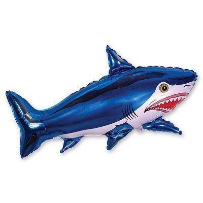 """Фольгированный шар фигура """" Акула """""""