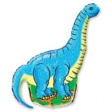 """Фольгированный шар фигура """" Динозавр Длинношей """""""