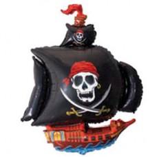 """Фольгированный шар фигура """" Пиратский Корабль """""""