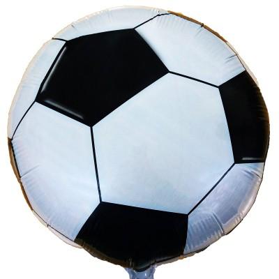 """Фольгированный шар """" круг Футбольный мяч  """""""